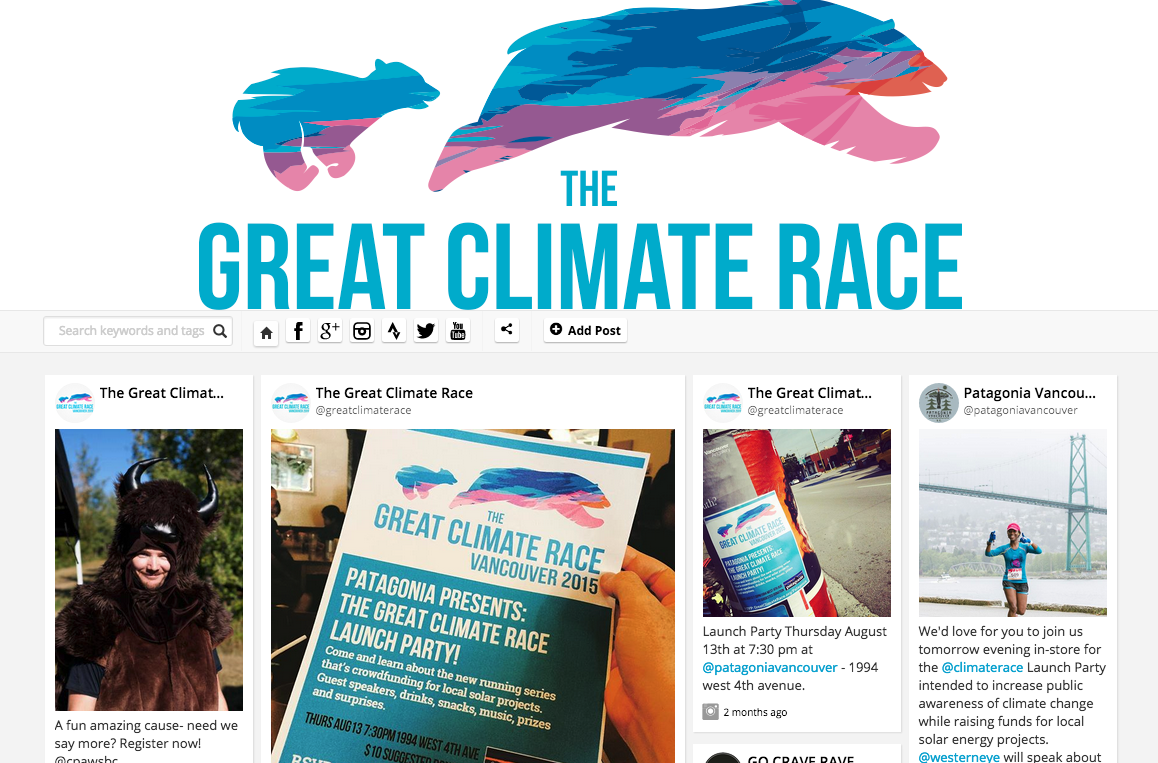 The Great Climate Race Virtual Marathon