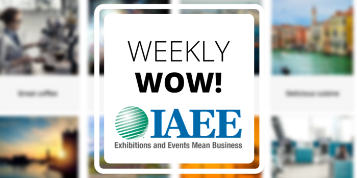 Tradable Bits Weekly Wow Case Study: International Association of Exhibitions and Events IAEE Event Planner Personality Quiz