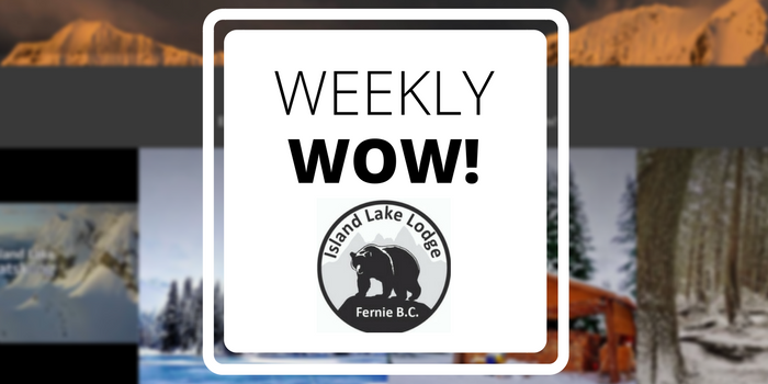 Tradable Bits Weekly Wow Case Study - Island Lake Lodge Social Website