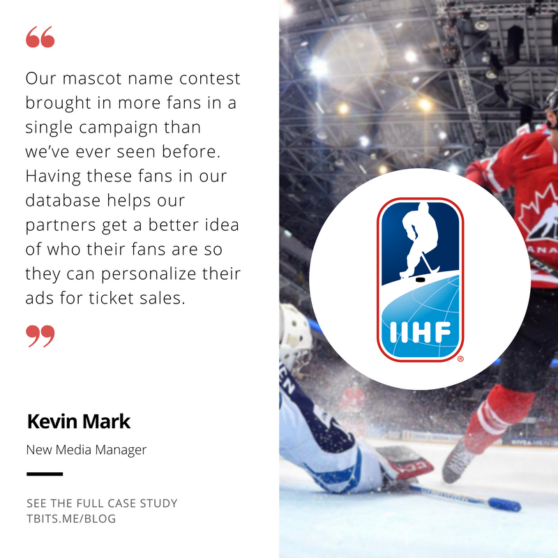 Tradable Bits Testimonial by International Ice Hockey Federation New Media Manager Kevin Mark