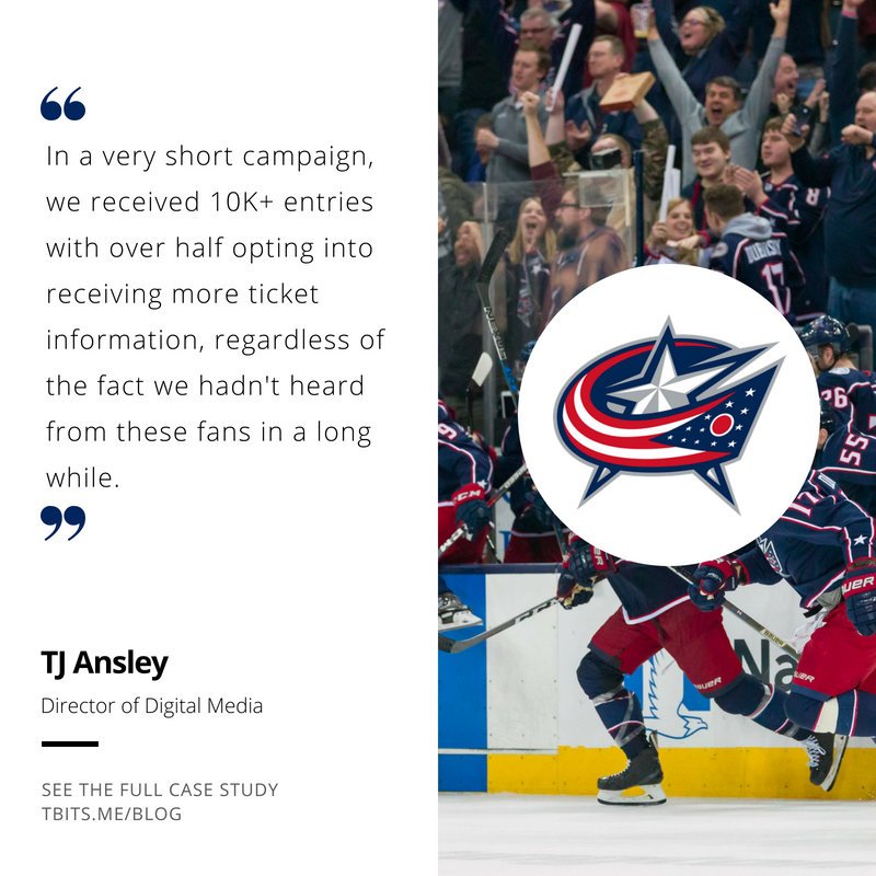 Blue Jackets Tradable Bits case study stats