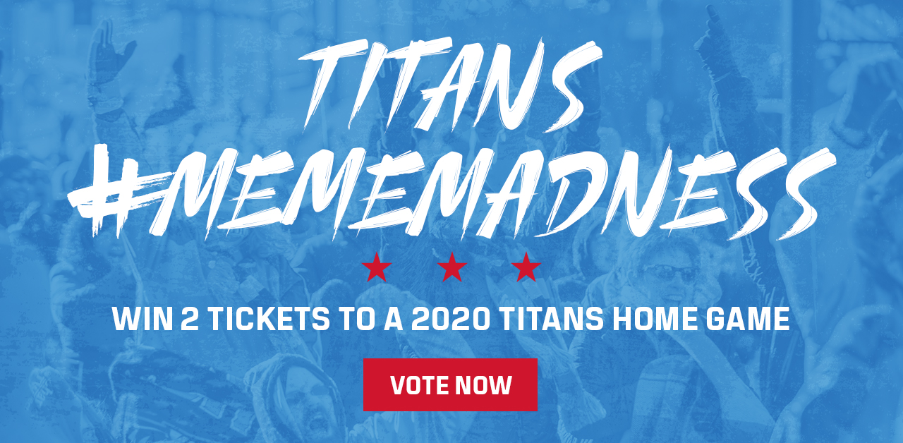 Win 2 Tickets to a 2020 Titans Home Game